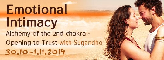 Emotional Intimacy Alchemy of the 2nd Chakra- Opening Towards Trust