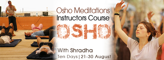 Meditation Instructors Course